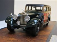 1930 ROLLS ROYCE PHANTOM II SHOOTING BRAKE WOODY, GREEN. LTD: 408.