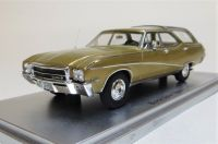 1969 BUICK SPORT WAGON, GOLD. LIMITED EDITION: 250. SCALE 1:43.
