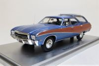 1969 BUICK SPORT WAGON, METALLIC BLUE. LIMITED EDITION: 250. SCALE 1:43.