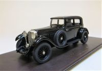LDM 75: 1930  BENTLEY EIGHT-LITRE, BLACK. W. O. BENTLEY'S PERSONAL CAR.. SCALE 1:43.