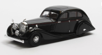 1936 BENTLEY 4.5 GURNEY NUTTING, BLACK. LTD: 408. SCALE 1:43.