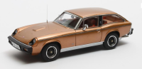 1975-76 JENSEN GT, GOLD. LTD: 408. SCALE 1:43.