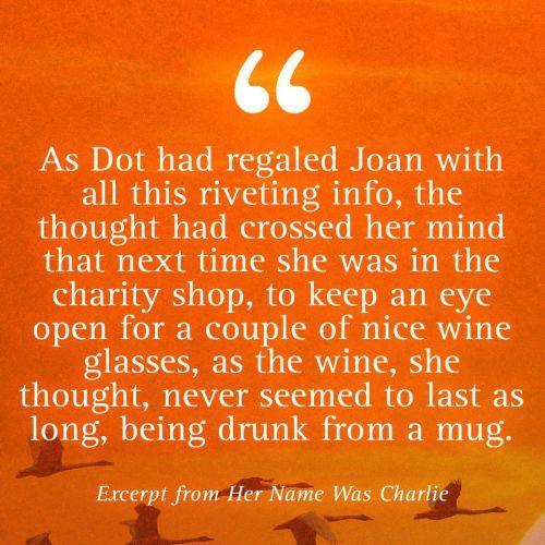 HER NAME WAS CHARLIE - A NOVEL.