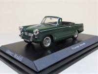 1967 TRIUMPH HERALD MK 11 OPEN CONVERTIBLE, PINE GREEN, BLACK INTERIOR, WIRE WHEELS ***SOLD***