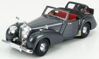 1949 TRIUMPH ROADSTER OPEN CONVERTIBLE, DARK METALLIC GREY, OPEN DICKEY SEAT.