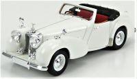 1949 TRIUMPH ROADSTER OPEN CONVERTIBLE, WHITE.