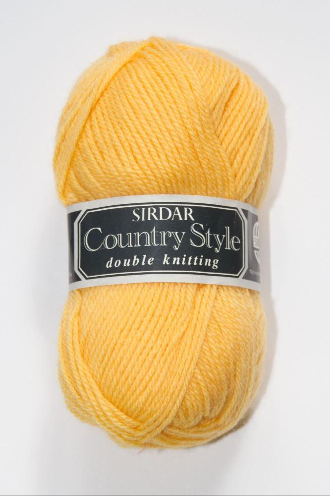 Sirdar DK Yellow 50g