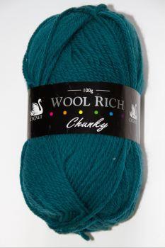Cygnet Wool Rich Chunky 100g Petrol