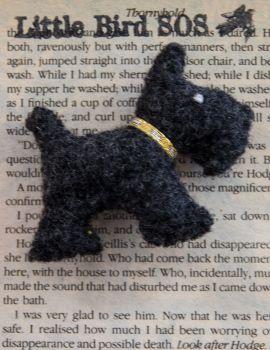 Scotty Dog Brooch