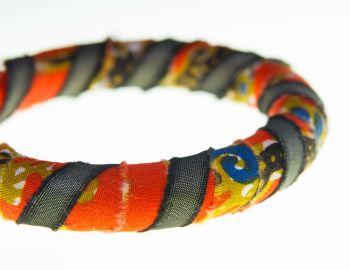 Bangle orange/gold