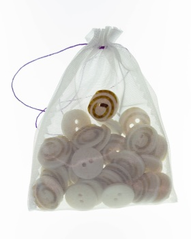 Neutral Swirl Buttons