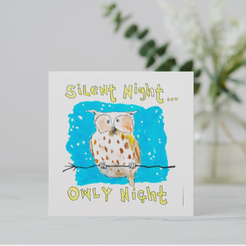 Silent Night Owly Night