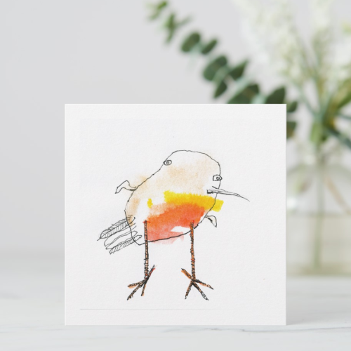Little Robin Greeting Card