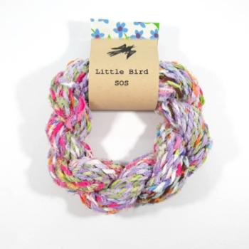 Handspun Recycled Fabric Yarn