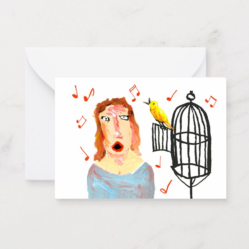 Lady Canary Singer