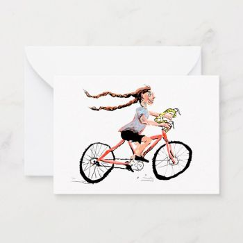 Go Girl Notecard