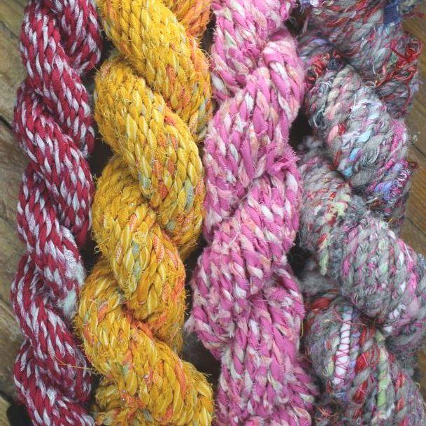 Recycled Fabric Yarn