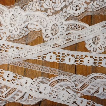 Lace Collection - White