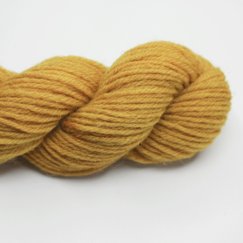 4-ply pure wool botanically dyed with onion skins