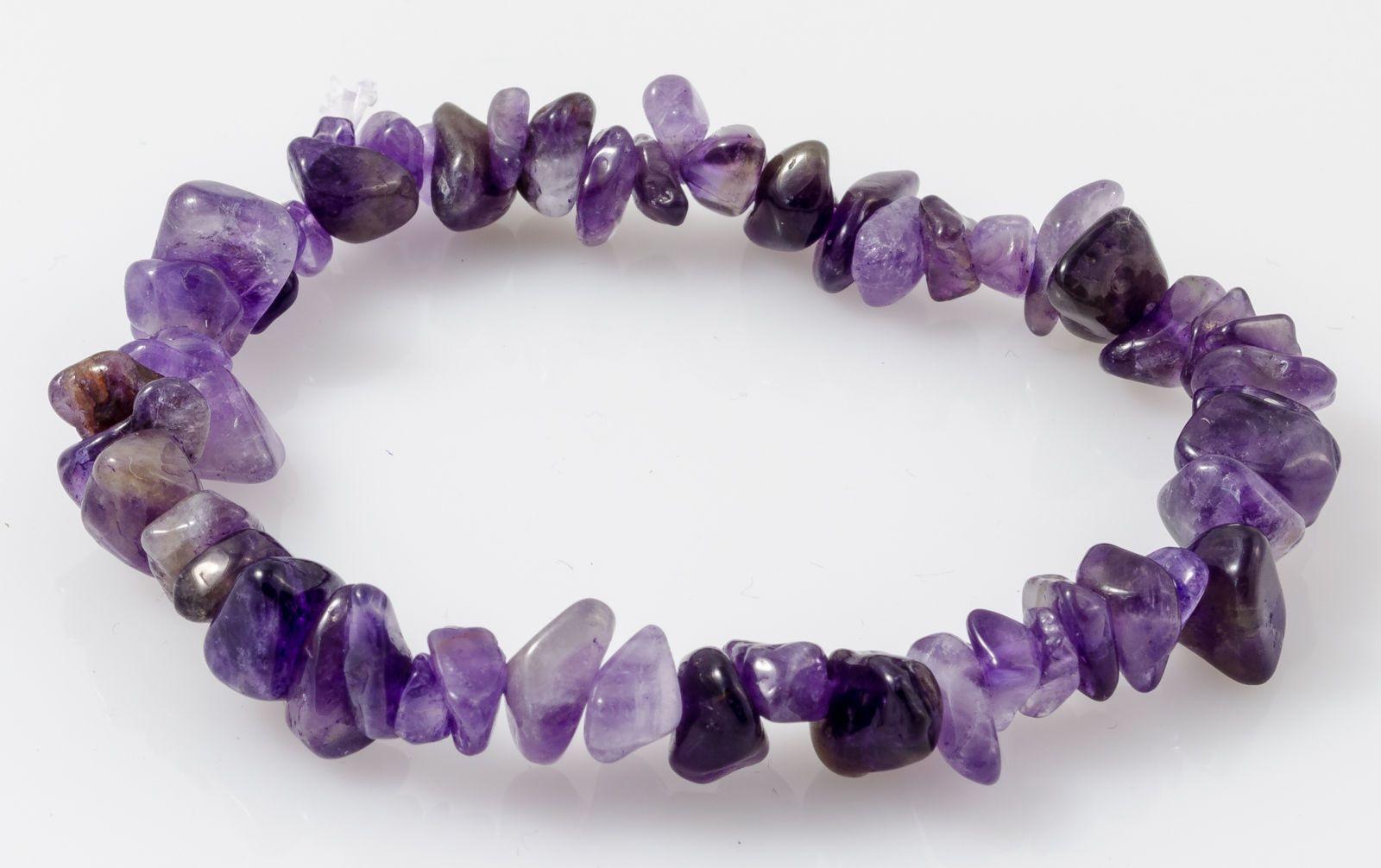 Amethyst charmed fertility bracelet by Caroline Millar