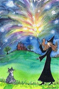 Oh ho ho it's magick - art print