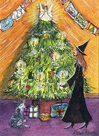 Oh Christmas tree, oh Christmas tree - art print