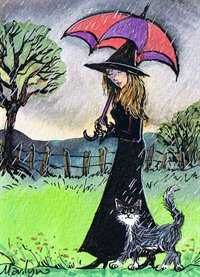 Raindrops keep falling on my head - Art print