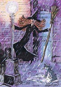 Singing in the rain - Art print
