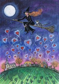 Love from above - art print by Marilyn Harris