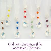 Colour Customisable Keepsake Charms