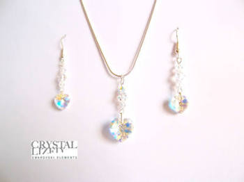 Clara - Crystal Swarovski Hearts Gift Set