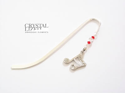 Swarovski Musical Note  Bookmark