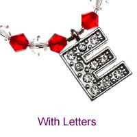 Luxury Charms with Letters