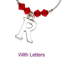 Demi Charms with Letters