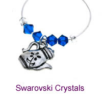 Demi Charms with Swarovski Crystals