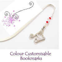 Christmas Colour Customisable Bookmarks