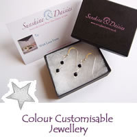 Christmas Colour Customisable Jewellery