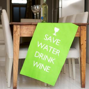 Wine Tea Towel £9.95