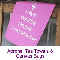 Aprons, Tea Towels & Canvas Bags