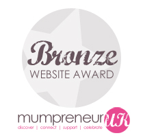 Mumpreneur UK Bronze Award