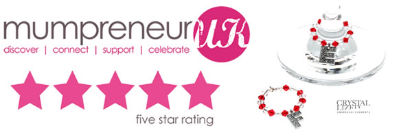 Mumpreneur UK awards Fred & Evie 5 stars!