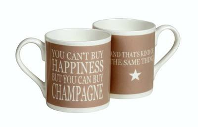 Happiness - Champagne Mug