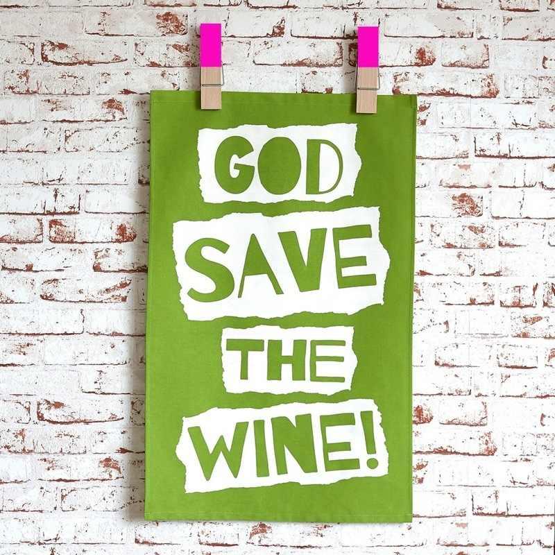 God Save the Wine