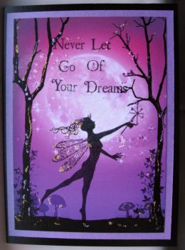 Never Let Go of Your Dreams Pink