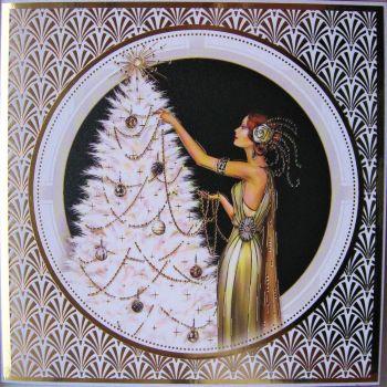 Christmas Tree (White)
