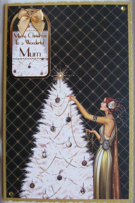 Christmas Tree (Black)