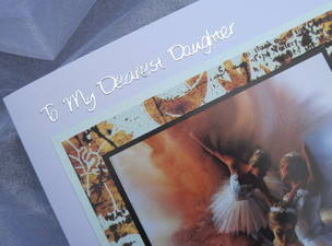 To my Dearest daughter detail