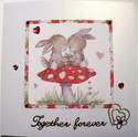 Together Forever handmade card