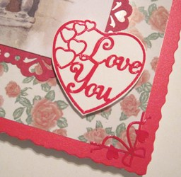 Detail Love Heart close-up