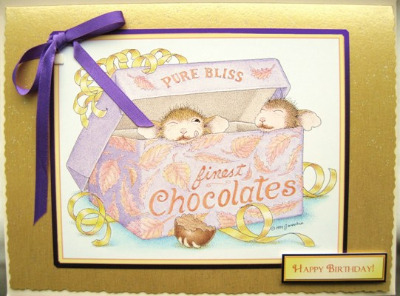 House Mouse Chocolate Box